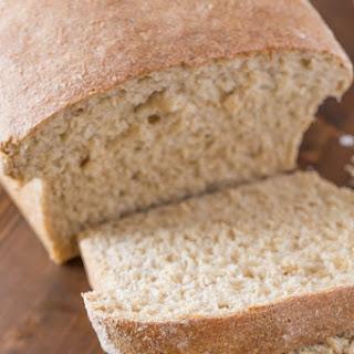 Easy Honey Whole Wheat Oat Bread