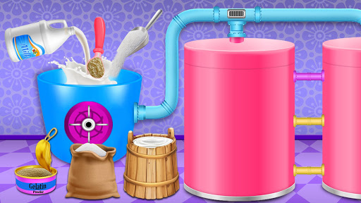 Code Triche Ice Popsicle Factory: jeu fabricant cru00e8me glacu00e9e APK MOD screenshots 3