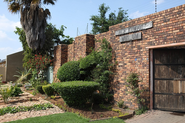 The Alf Kumalo Museum is pictured in Diepkloof, Soweto, October 9 2020. The museum has been closed to the public since the passing of the late Alf Kumalo.
