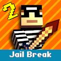 Cops N Robbers: 3D Pixel Prison Games 2 icon