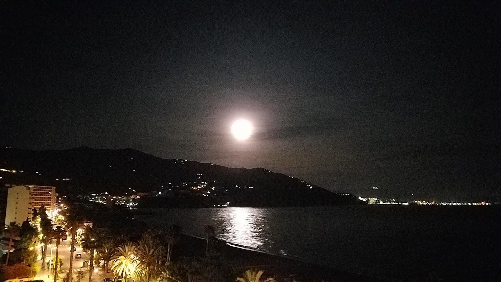 Moonrise over Salobrena