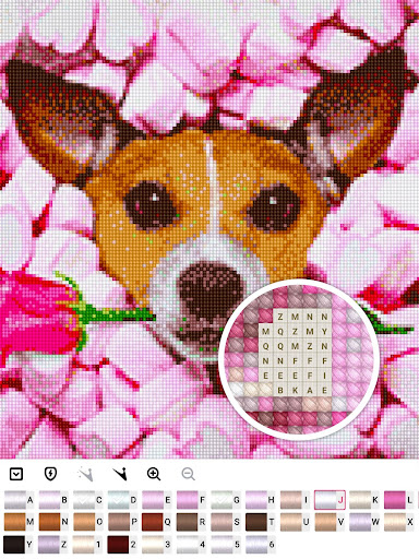 Color by Letter : Cross Stitch Joy 1.0.2 screenshots 12