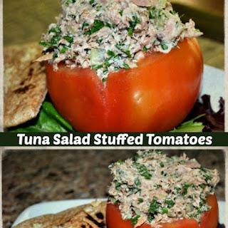 Tomatoes Stuffed with Tuna Salad