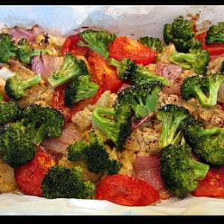 Oven Roasted Vegetables.