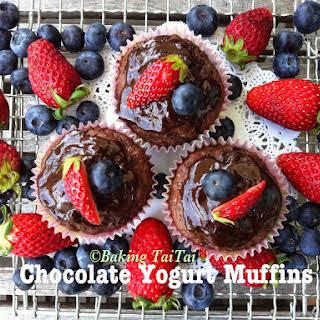 Chocolate Yogurt Muffin.