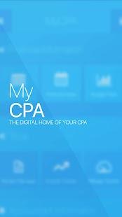 MyCPA - náhled