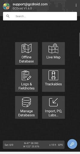 Screenshot for GCDroid Pro Key - Geocaching in Hong Kong Play Store