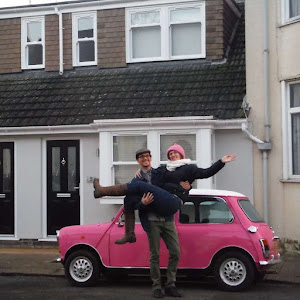 The Pink Mini Italian Job | Krys Kolumbus Travel Blog