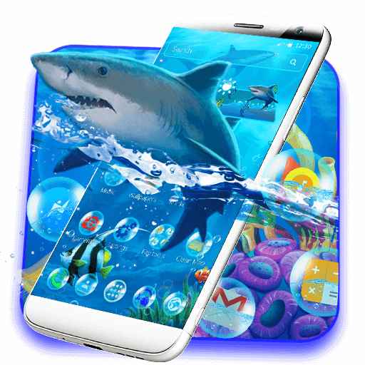 Aquarium Shark Theme
