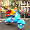 Pizza Delivery Boy: City Driving Simulator