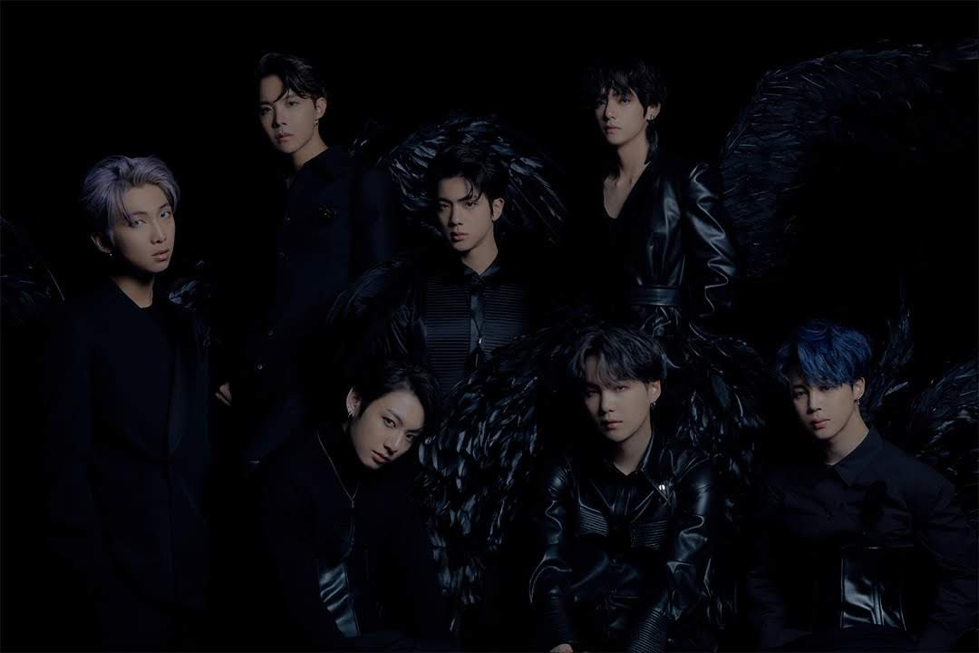bts black swan concept shoot
