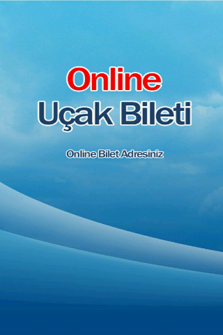 Online Uçak Bileti- screenshot