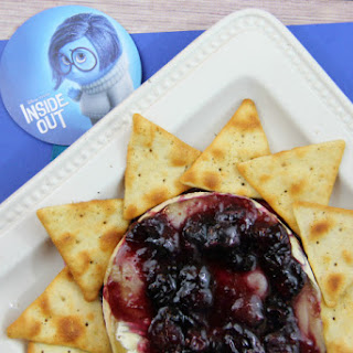 Baked Blueberry Brie Appetizer.