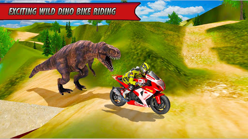 Bike Racing Dino Adventure 3D  screenshots 6