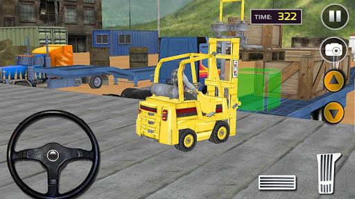 貨物トラックトランスポーター:フォーク