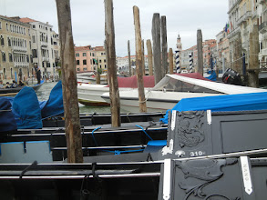 Photo: Looking up the Grand Canal towards the Rialto Bridge
