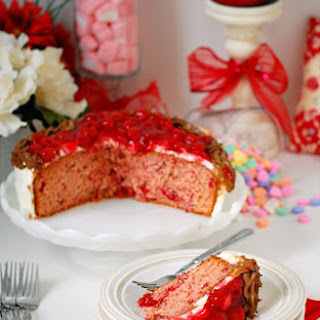 Sweetheart Cherry Cake.