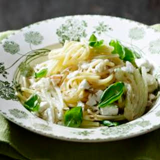 Fennel And Feta Linguine.