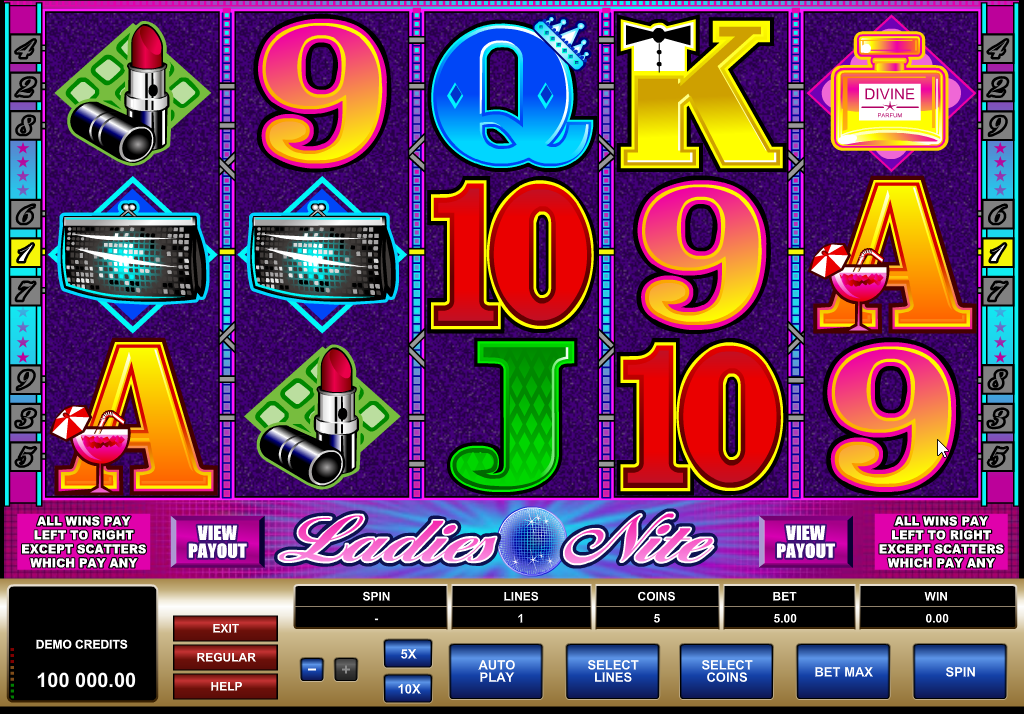 Ladies Nite Slots Machine Review