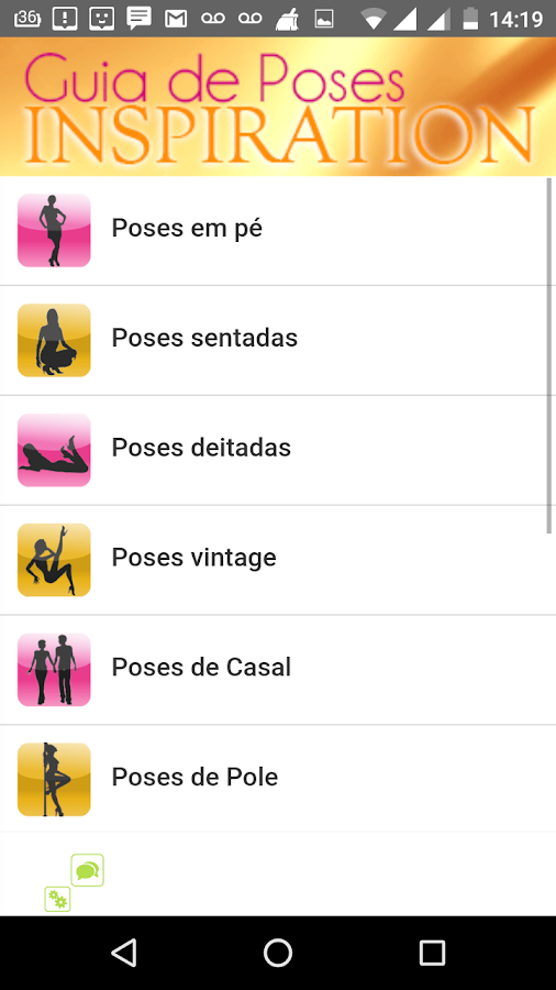 Guia de Poses Inspiration 1- screenshot
