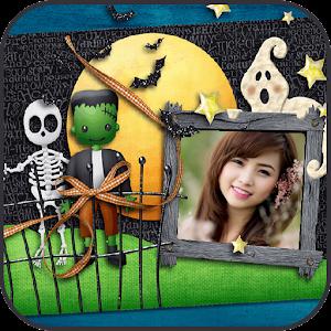 marcos de fotos de Halloween Gratis