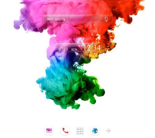 壁紙無料-Color Explosion-おしゃれきせかえ