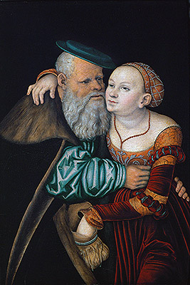 Photo: The Uneven Couple (The Old Lover), 1531