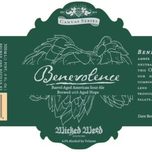 Logo of Wicked Weed Benevolence