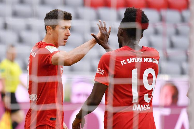 🎥 Clap 51 pour Lewandowski, clap doublé pour le Bayern !
