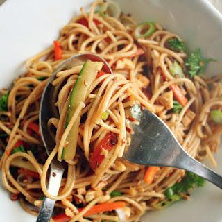 Sesame Ginger Soba Noodle Salad.
