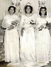 Photo: May Procession Court_ Barbara Ann Thompson -May Queen_St Cyprian Parish
