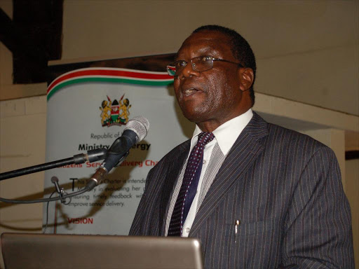 Hudson Andambi during a past Petroleum ministry function in Nairobi. /FILE