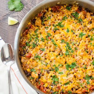 30-Minute Cheesy Mexican Rice Skillet.