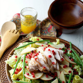 Organic Chicken Salad with Citrus Vinaigrette