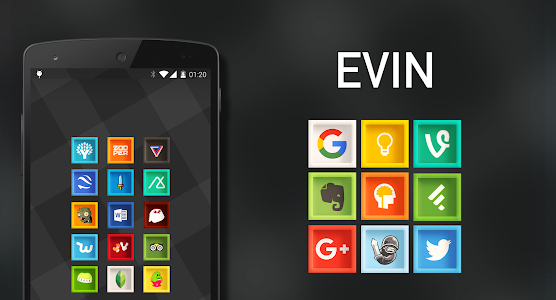 Evin - Icon Pack screenshot 8