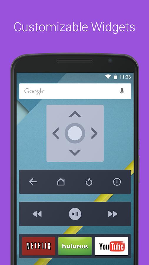 Remote for Roku - RoByte Trial - screenshot