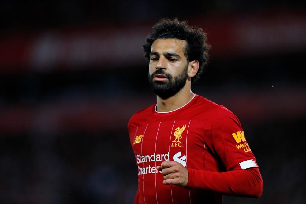 Salah troos die ster van Liverpool, wat die neus beseer het