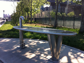 Photo: Foot operated Fountain