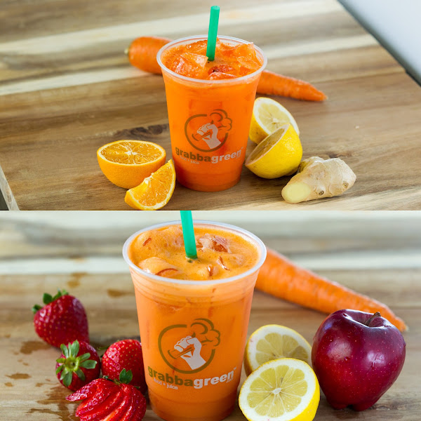 Immune and Wellness fresh pressed juices