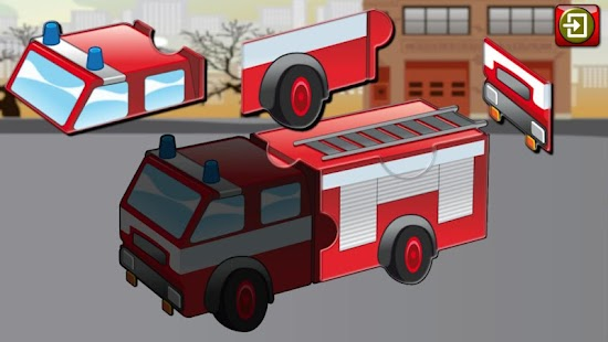 Car Truck and Engine Puzzles- screenshot thumbnail