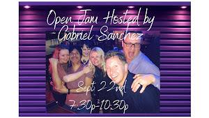 OPEN JAM hosted by Gabriel Sanchez