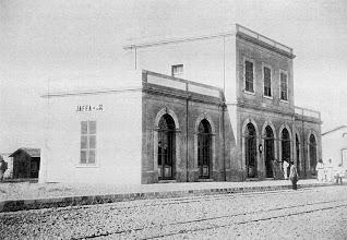 Photo: Jaffa Station 1891 (z Wikipedie)