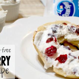 Gluten-Free & Vegan Cranberry Bagel