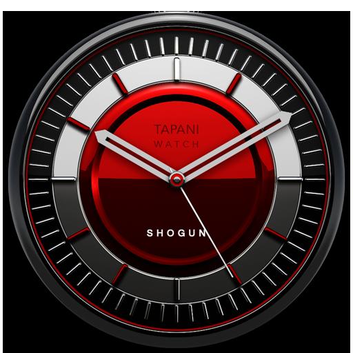 SHOGUN Designer Clock Widget