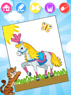 Kids Coloring Pages - náhled
