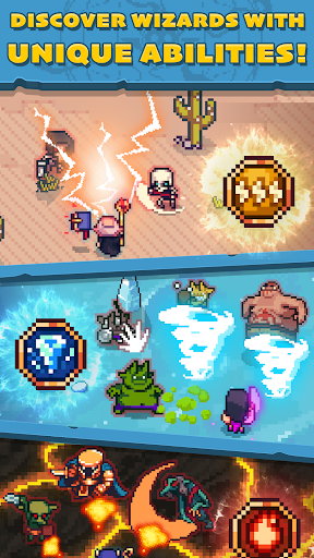 Tap Wizard: Idle Magic Quest 3.1.2 screenshots 2