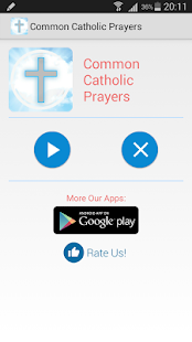 Common Catholic Prayers - náhled