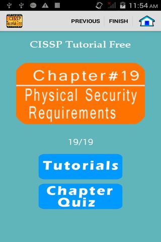CISSP Tutorial Free