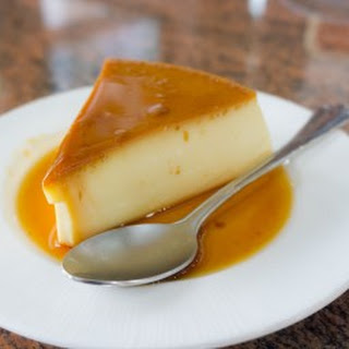 """""""Real Easy"""" Flan."""
