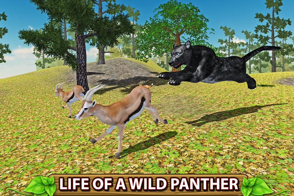 Furious Panther Family Sim- screenshot
